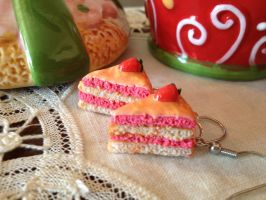 Cake Earrings by Eminentia