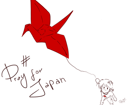 A Tsuru for Japan by lonestarstories