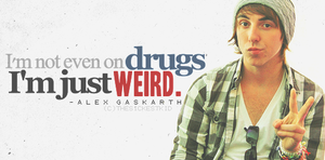 Alex Gaskarth Quote by TheSickestKid