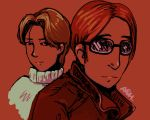 James Gordon Jr. and Johan Liebert by Banasee