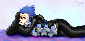 Saix and Babies by BeagleTsuin
