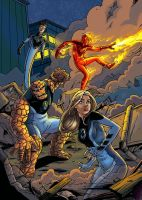 Ultimate Fantastic Four by mcguinnessjohn
