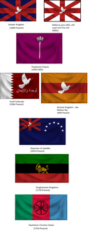 Assorted Flags by Din626