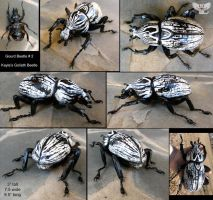 Sculpted Gourd Beetle #2 - Goliath Beetle by ART-fromthe-HEART