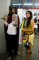 Beast And Pocahontas by Aerithita