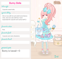 My Lolita Bunny Bella by syahilla