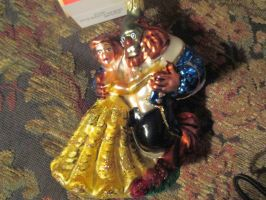 Beauty and The Beast ornament by renthegodofhumor