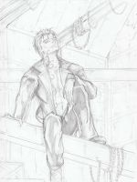 Nathaniel Fairchild Pencil by TheEndofOurLives