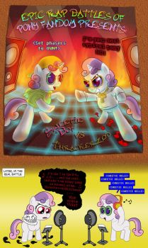 MLP FiM Commission - Epic Rap Pony Battle by Fadri