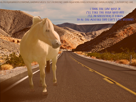 The high Road by ponies4life-2013