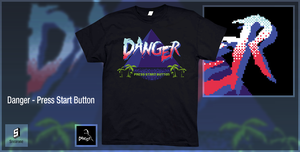 Danger - Press Start Button by Snearone