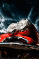 corvette c1 headlight by AmericanMuscle