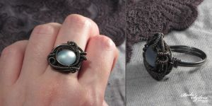 Night pond ring by bodaszilvia