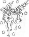 Pegasus Sketch from Sailor Moon by Melski83