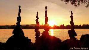 land art in the sunset from Hungary by kanya by tom-tom1969