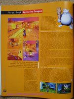 Playstation Magazine 34 Spyro the Dragon p46 by Spyro-1995