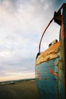 Weathered Boat by Gandhi36
