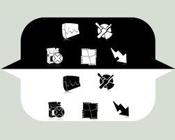ecqlipse icon set fillers by digitaltrauma