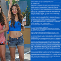 Victoria Justice TG (Suchaweirdo24 Contest Entry) by kratosthemystic7