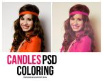 Candles PSD. by fearlessofyou