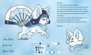 Raziel - Reference Sheet by Fucal