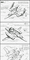 Unmanned drone type2 drawing by myname1z4xs