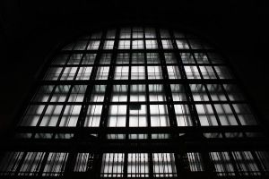Silhouetted Window by jegowrie