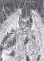 Alastor the Einherjar Warrior by Ragnarokdragon