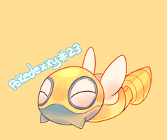 Pokedexxy #23 - Dunsparce by pekou