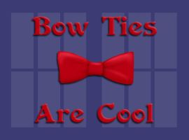 Bow Ties Are Cool Icon by FangsAndNeedles
