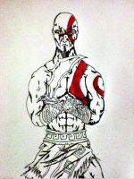 Kratos by zykhokiller