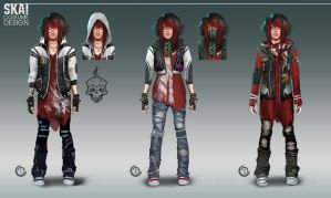 Skai Costume Design by orochi-spawn