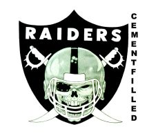 Oakland Raiders Logo by CementFilled