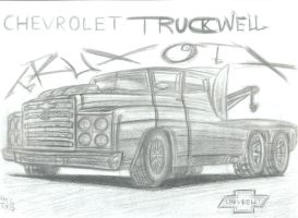 Chevrolet Truckwell Wrecker by theTobs