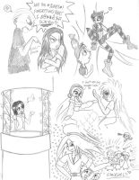 Naruto Disney Doodles 5 by GothicDancer
