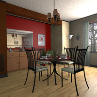 Dining Room by timzero4