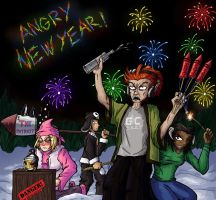 Angry New Year! 2013 by ReallyAngry