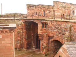 Carlisle Castle 03 by Axy-stock
