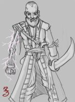 Lightning Pirate by Zscribe
