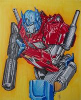 OPTIMUS PRIME by ARTIEFISHEL79