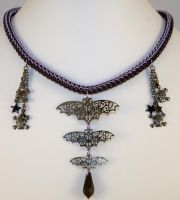 Seductive Punk Full Persian Chainmaille Necklace by ArmouredWolf907