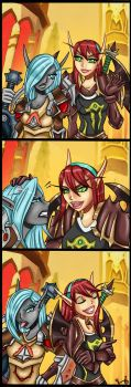 Old commission comic by Ninnydoodles