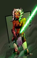 Ahsoka colours by thatron