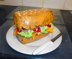 Cake Sammich by Tilly-Towell
