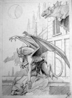 Fan art Gargoyles by Aguilas