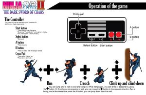 Ninja GAIDEN II Book -controls by Hellstinger64
