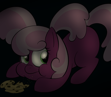 naughty cheerilee by Lamiaaaa