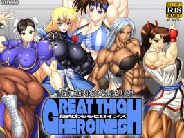 Great Thigh Heroines by RENtb