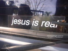 Jesus is real by kooksgallery