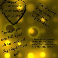 4 qoute brushes by ShamanQueen1994